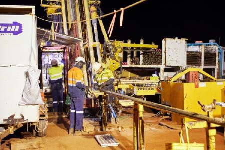 RC-Bohrung auf Hemi, Foto: De Grey Mining