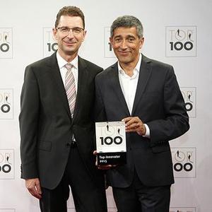 Marcus Eisenhuth, COO, und Top 100-Mentor Ranga Yogeshwar