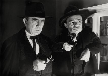 Bela Lugosi weiß sich zu wehren...