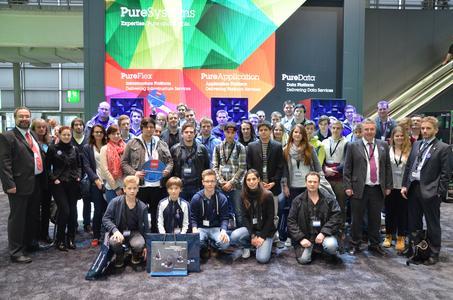 Die Teilnehmer des GROUPLINK IT-Nachwuchstages