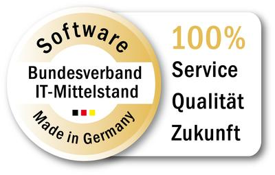 Software Made In Germany Stempel des BITMi