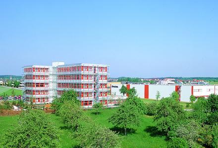 Das Drescher Werk in Rutesheim b. Stuttgart, Sitz der Drescher Print Solutions GmbH und der Eppe-Drescher Beteiligungsverwaltungs GmbH
