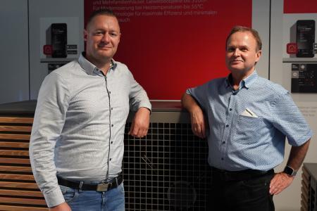 Kenny Fredl und Dirk Reichelt verstärken seit 1. Juli 2021 das Vertriebsteam von Dimplex