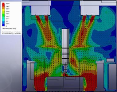 Die Erfassung der Stäube war eine Herausforderung - die Strömungssimulation half, eine maßgeschneiderte Lösung zu finden