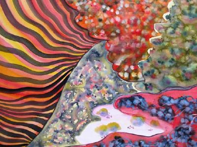 »Farbformen« von Helga Betsarkis