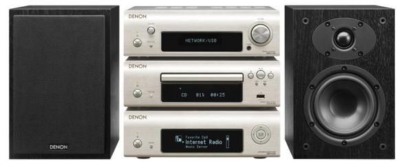 Denon präsentiert D-F109: Alleskönner der Mini-Kategorie mit erstklassigem Netzwerk-Player