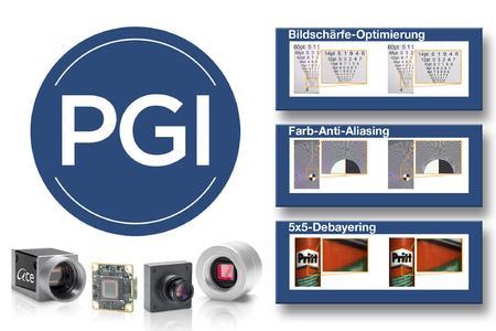Basler PGI - In-Kamera-Bildoptimierung bei voller Geschwindigkeit