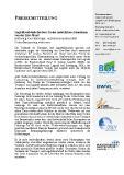 [PDF] Pressemitteilung: Logistikverbände fordern: Keine zusätzlichen Ausnahmen von der Lkw-Maut!