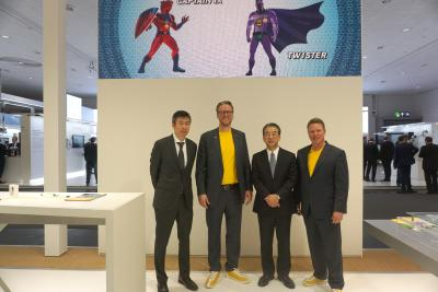 Successful trade fair: SPE partnership HARTING - TE Connectivity - HIROSE, first series parts presented