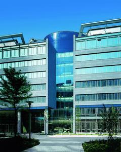 Firmengebäude der BHF-Bank