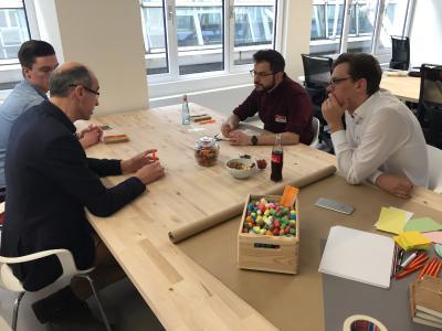 Innovationsraum.Ruhr - Innovation Lab bringt junge Ideen und erfahrene Unternehmen zusammen