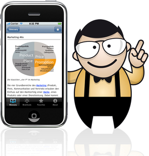 iMarketing iPhone App von Projekt design