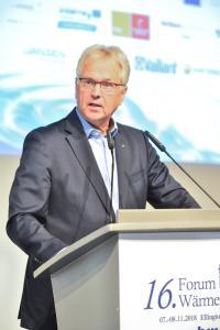 16. Forum Wärmepumpe: Begrüßungsrede des BWP‐Vorstandsvorsitzenden Paul Waning