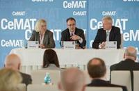 CeMAT-Leitthema: Smart - Integrated - Efficient