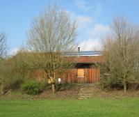 Solar gelüftet - trockene Sanitär- und Aufenthaltsräume