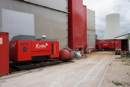 Der günstige Dieselverbrauch gab den Ausschlag für die Investition in Kompressoren von CompAir