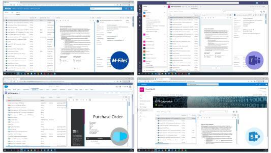 Das neue Webangebot von M-Files lässt den Anwendern die Wahl bei ihrer täglichen Arbeitsumgebung