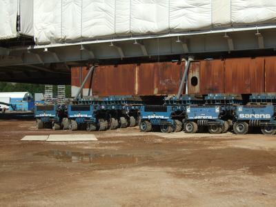 Mehr als 15 000 Tonnen Last auf Conti IC40