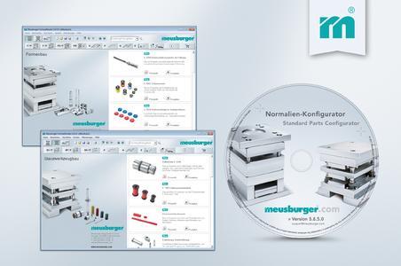 Meusburger launches its CD update 5.8.5.0