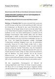 [PDF] Pressemitteilung: prisma informatik qualifiziert sich für Gold-Kompetenz in Enterprise Resource Planning
