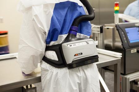 Anwendung2 3M Versaflo Geblaeseatemschutzsystem TR 600