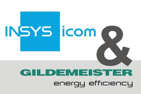 The energy management software from GILDEMEISTER energy efficiency runs directly on the intelligent VPN routers and IoT gateways from INSYS icom