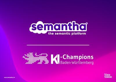 semantha® ist KI-Champion!