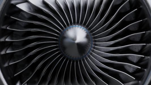 Luftfahrtkomponenten aus Nickel-Superlegierungen, Titan und Aluminium