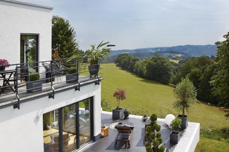 Homestory Kern-Haus Terrasse