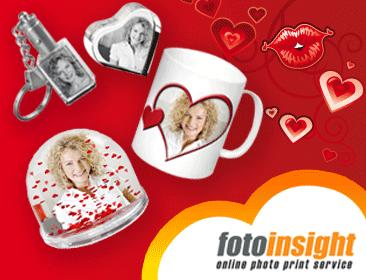 Valentine's Photo Gifts from FotoInsight