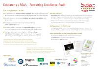[PDF] Eckdaten zu RExA – Recruiting-Excellence-Audit