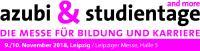Logo der azubi- & studientage Leipzig 2018