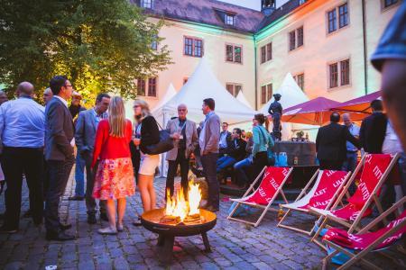 Das Vorabend-Event am 14.06. im Museumscafé Fulda: Vernetzung & geselliges Beisammensein inmitten historischer Kulissen