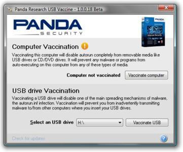 Panda USB Vaccine