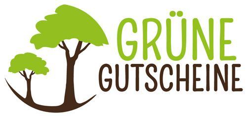 """Logo des grünen Rabattportals """"Grüne Gutscheine"""""""