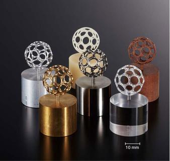 The gold-medal-winning latticework ball programmed with hyperMILL®, Image source: Mori Seiki