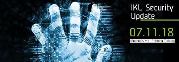 Die Firma IKU GmbH & Co. KG informierte am 07.11.18 darüber, wie sich Unternehmen fit gegen Cyber-Attacken machen können
