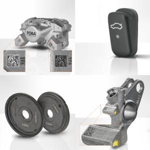 Anwendungsbeispiele für die Lasermarkierung auf auf Automobilbauteilen