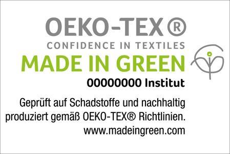 Nun hat das Unternehmen als erster Betrieb im B2C-Bereich überhaupt das Made in Green by OEKO-TEX® Label erhalten. Ausgezeichnet wurden Frottierwaren und Handtücher, die unter nachhaltigen Bedingungen hergestellt werden. © OEKOTEX