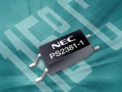 Für Betriebstemperaturen von -40°C bis +115°C geeignet: Extrem flacher Transistor-Optokoppler im 4-Pin-L-SOP