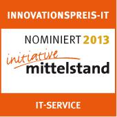 rimacon omniSuite unter den Top 3 der Kategorie IT-Service des Innovationspreis-IT 2013