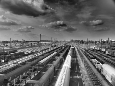 Ist hier noch Platz für weitere Züge? Mit einer Simulation konnte das IPH klären, ob ein Güterbahnhof ausgelastet ist  oder ob es versteckte Leistungsreserven gibt. (Foto: Frank Deckmann / Creative Commons)