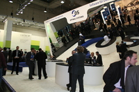 CeBIT Messestand