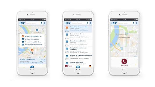 TWT Business Solutions GmbH entwickelt Arztsuche-App für R+V Versicherung