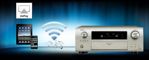 Denon-Upgrade für AirPlay Musik-Streaming ab sofort erhältlich