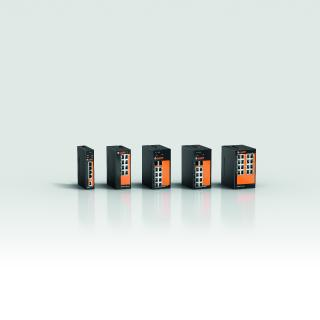 Some of the new ETHERLINE® ACCESS switches that LAPP will launch at the SPS
