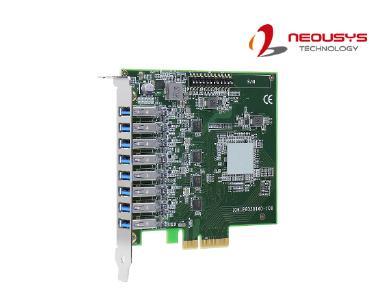 Neousys vor Markteinführung der Bilddigitalisierer-Karte PCIe-USB381F mit USB3.1 (Gen1)-Technologie, einer schnellen und zuverlässigen Erweiterungsoption für Machine Vision-Anwendungen