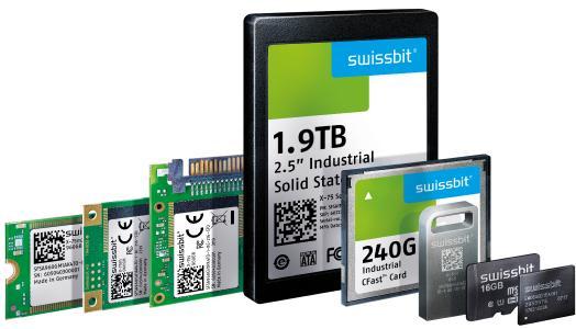 Swissbit präsentiert auf der virtuellen FMS 2020 zuverlässige Speicher- und Security-Produkte in Industriequalität