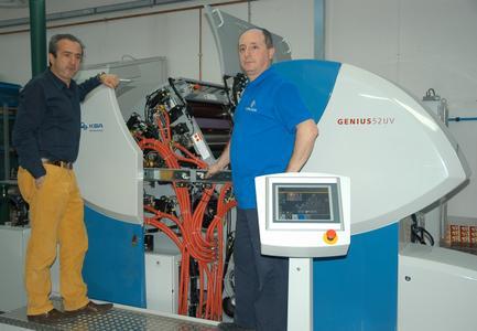 Alle Komponenten der Maschine sind dank ihrer kompakten Bauweise zu Rüst- und Wartungszwecken gut zugänglich