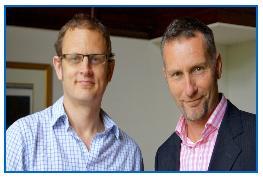 Marcus Timson and Frazer Chesterman, FM Brooks